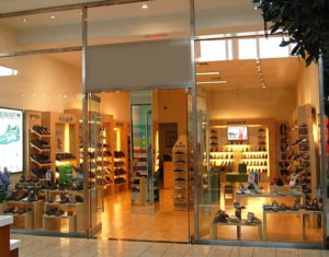 Mephisto Shoe commercial storefront