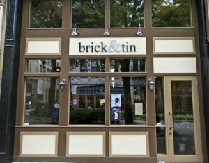brick & tin commercial storefronts