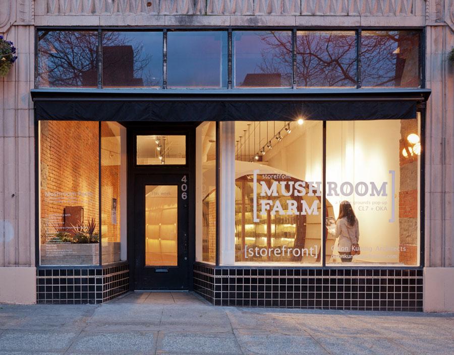 Mushroom Farm commercial storefront